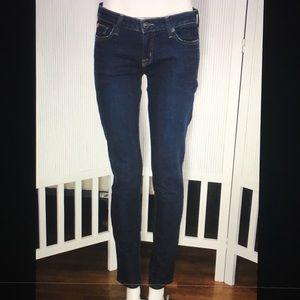 AG Adriano Goldschmied Dark Skinny Jeans 27
